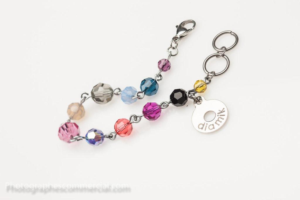 Photo corporative de bijoux pour publicité
