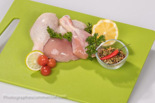 Photo commercial culinaire en studio Rive-Sud
