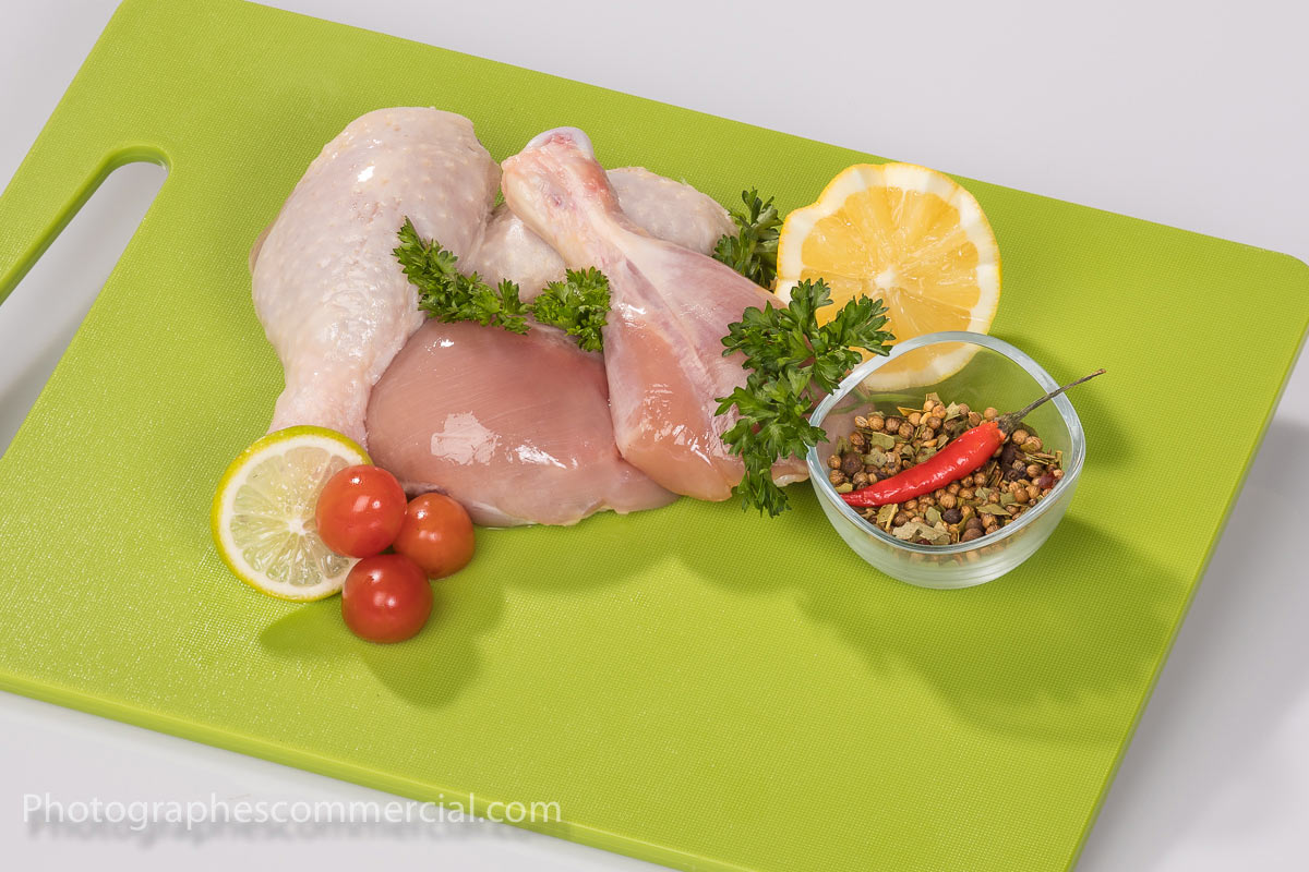 Photo commercial culinaire en studio Rive-Sud