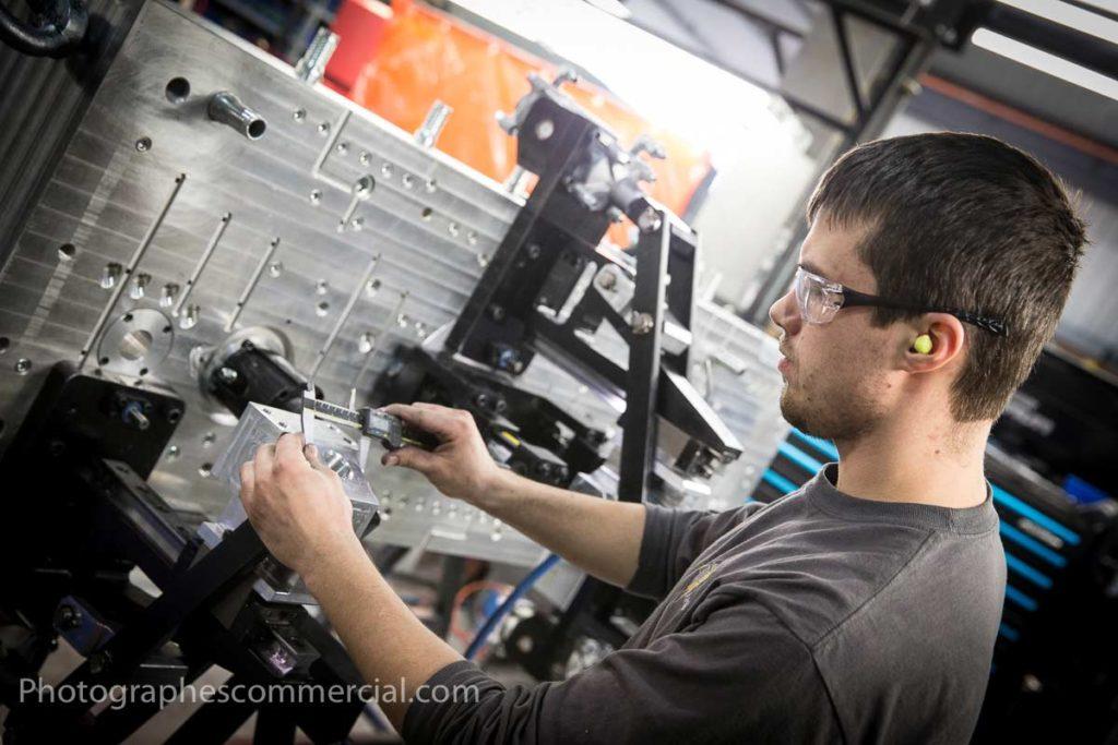 Photographie industriel en usine par Photographescommercial.com