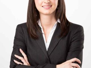 Portrait corporatif en studio à Chambly sur fond blanc